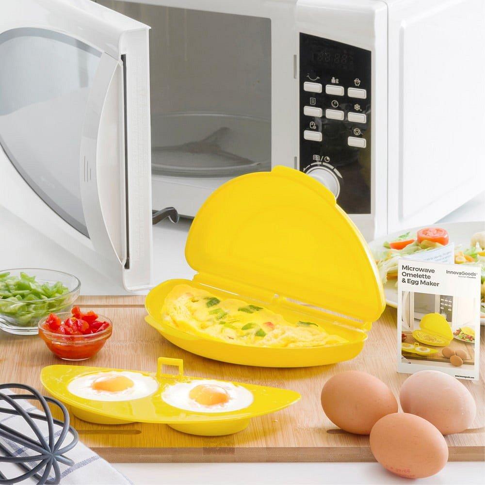 Sada na přípravu omelety v mikrovlnce InnovaGoods