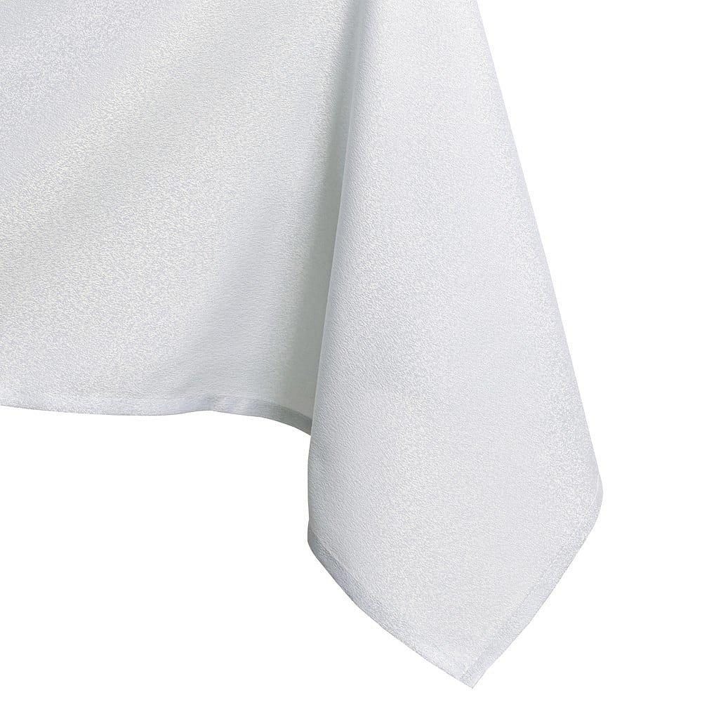 Bílý ubrus AmeliaHome Empire White, 140 x 220 cm