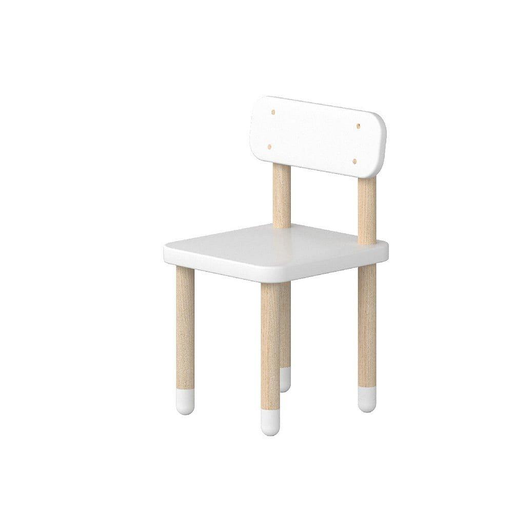 Bílá dětská židle Flexa Play