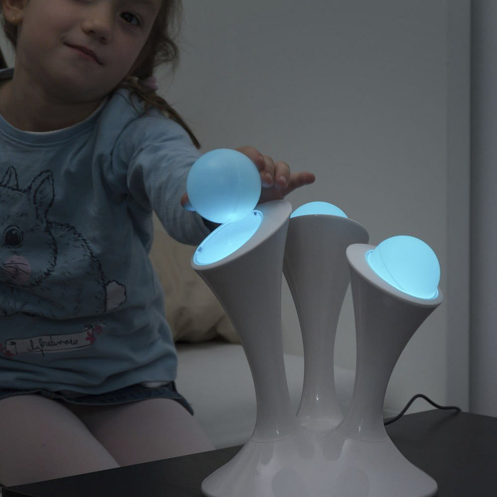 Vícebarevné LED svítidlo s odnímatelnými zářivkami InnovaGoods Home