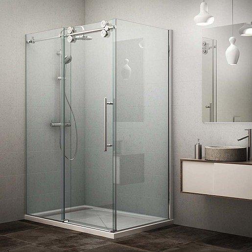 Boční zástěna ke sprchovým dveřím 100x200 cm Roth Kinedoor Line chrom lesklý 971-1000000-00-02