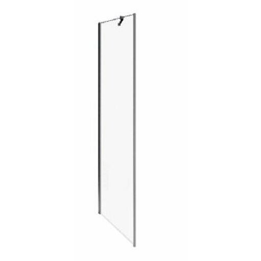 Boční zástěna ke sprchovým dveřím 100x195 cm Jika Pure chrom lesklý H2974230026681
