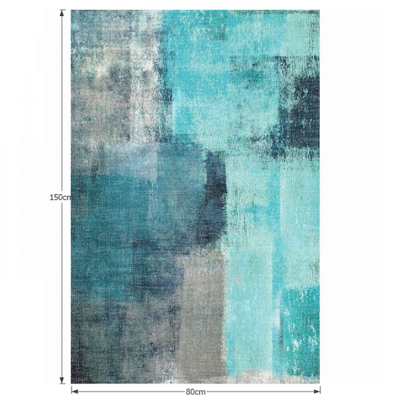 Koberec ESMARINA TYP 2 modrošedá Tempo Kondela 80x150 cm