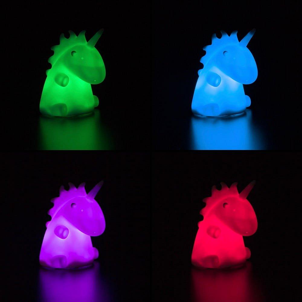 Barevný svítící jednorožec InnovaGoods LEDicorn