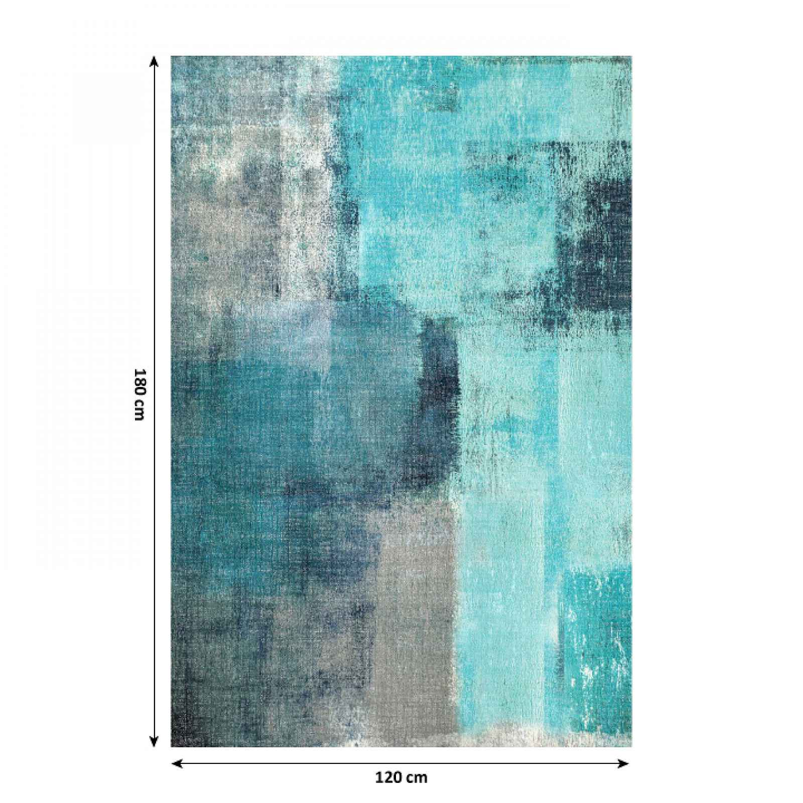 Koberec ESMARINA TYP 2 modrošedá Tempo Kondela 120x180 cm
