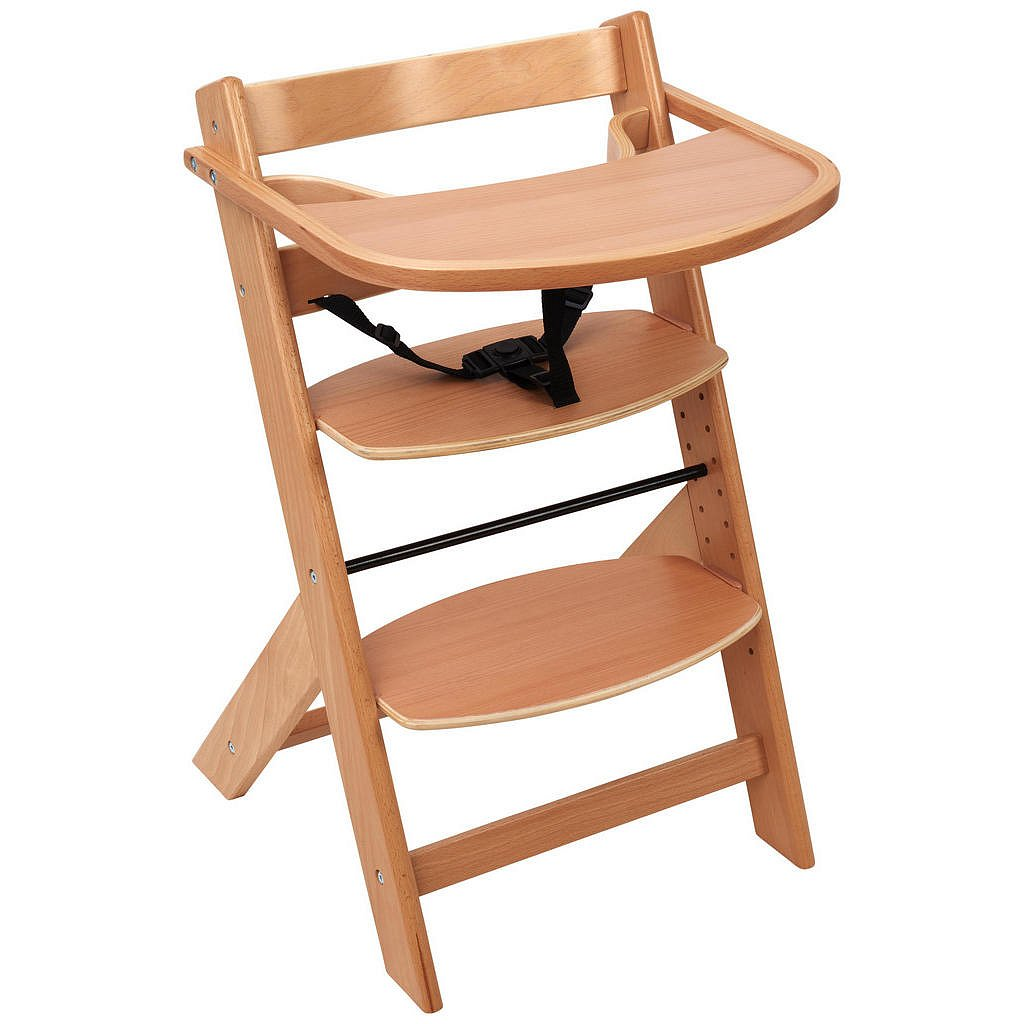 My Baby Lou Vysoká Židle, Buk, Přírodní Barvy - 002786000705
