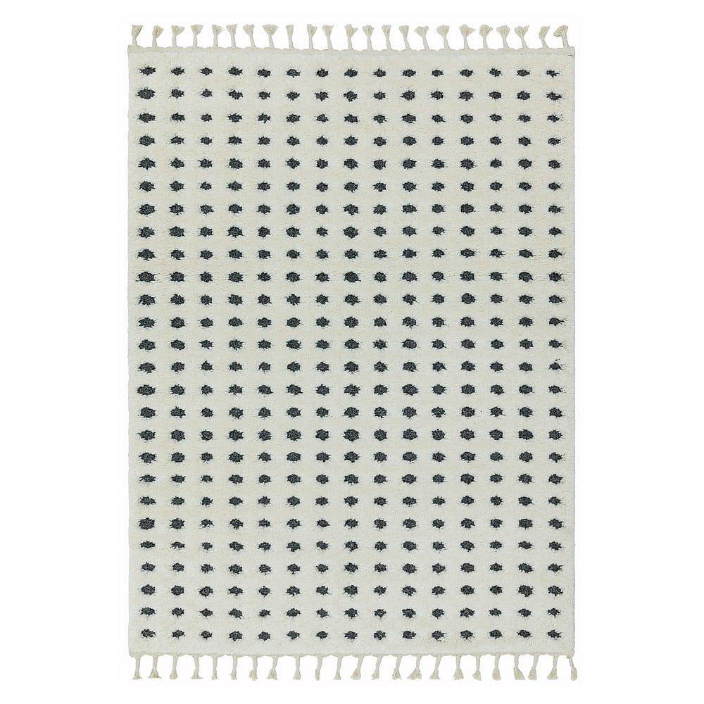 Béžový koberec Asiatic Carpets Dotty, 80 x 150 cm