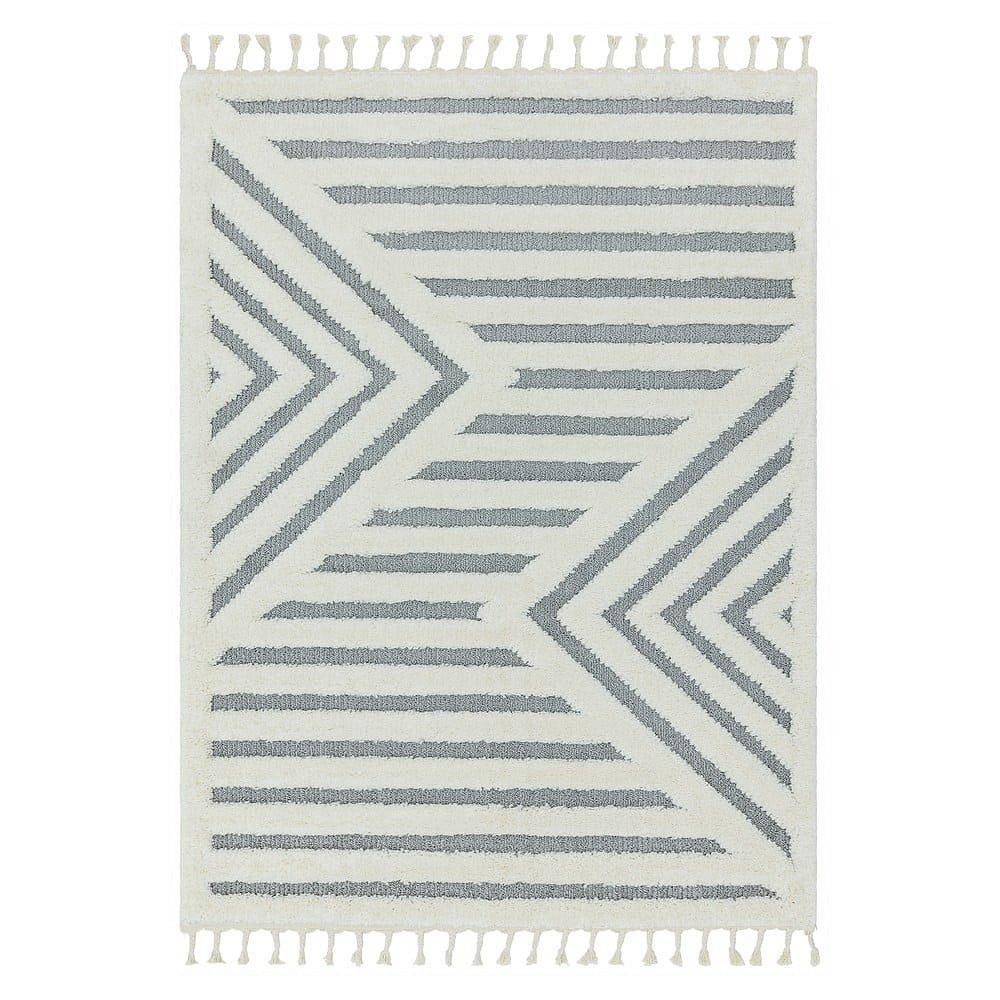 Béžový koberec Asiatic Carpets Shard, 80 x 150 cm