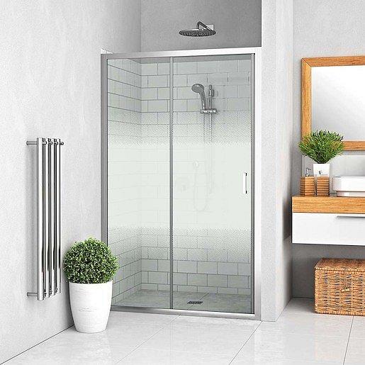 Sprchové dveře 160x190 cm Roth Lega Line chrom lesklý 556-1600000-00-21