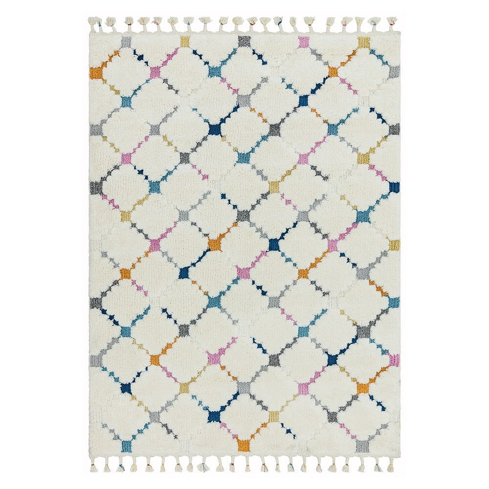 Béžový koberec Asiatic Carpets Criss Cross, 120 x 170 cm