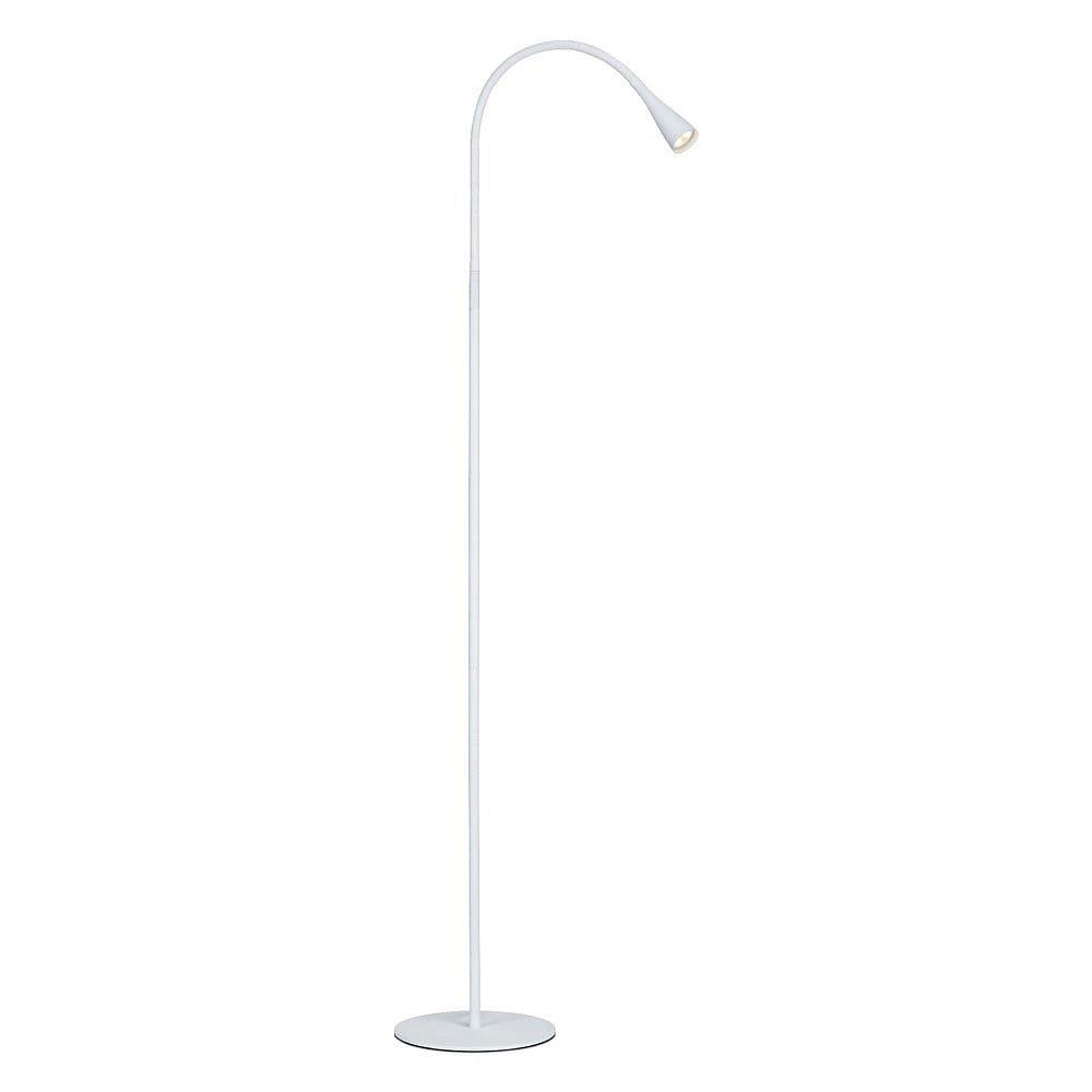 Bílá stojací lampa Markslöjd Snake