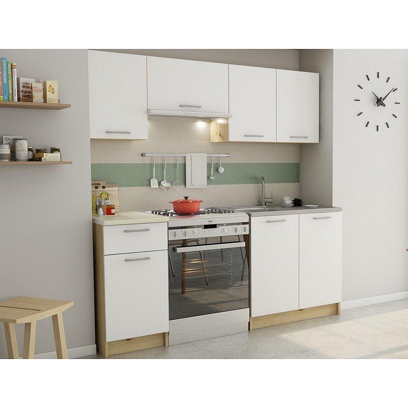 Kuchyňský blok Irma, dub artisan/bílá