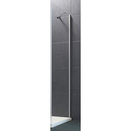 Boční zástěna ke sprchovým dveřím 100x190 cm Huppe Design Pure chrom lesklý 8P1005.092.321