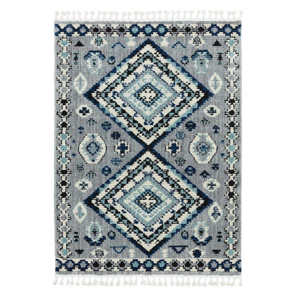 Modrý koberec Asiatic Carpets Ines, 120 x 170 cm