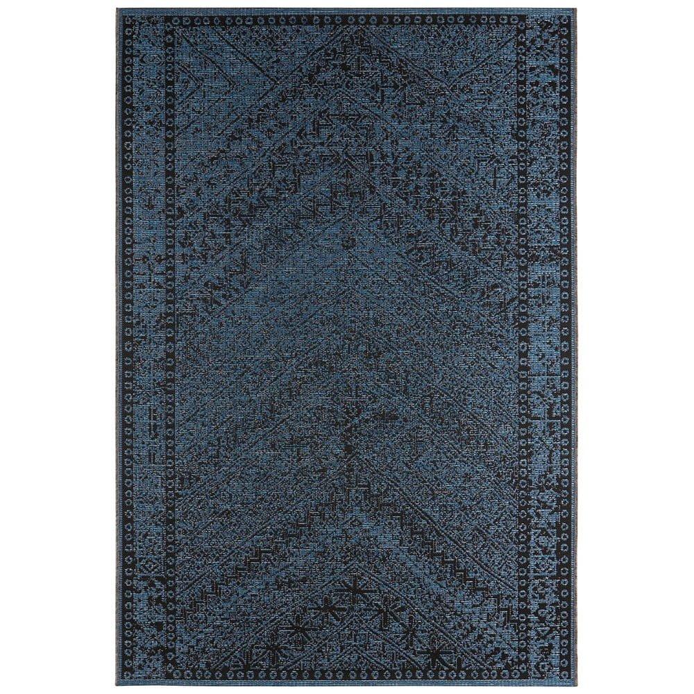 Tmavě modrý venkovní koberec Bougari Mardin, 140 x 200 cm