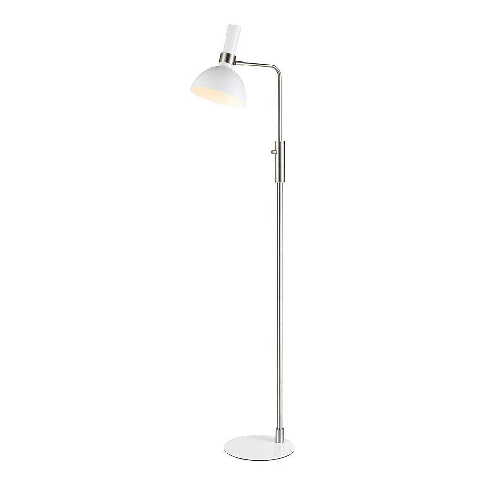 Bílá stojací lampa Markslöjd Larry