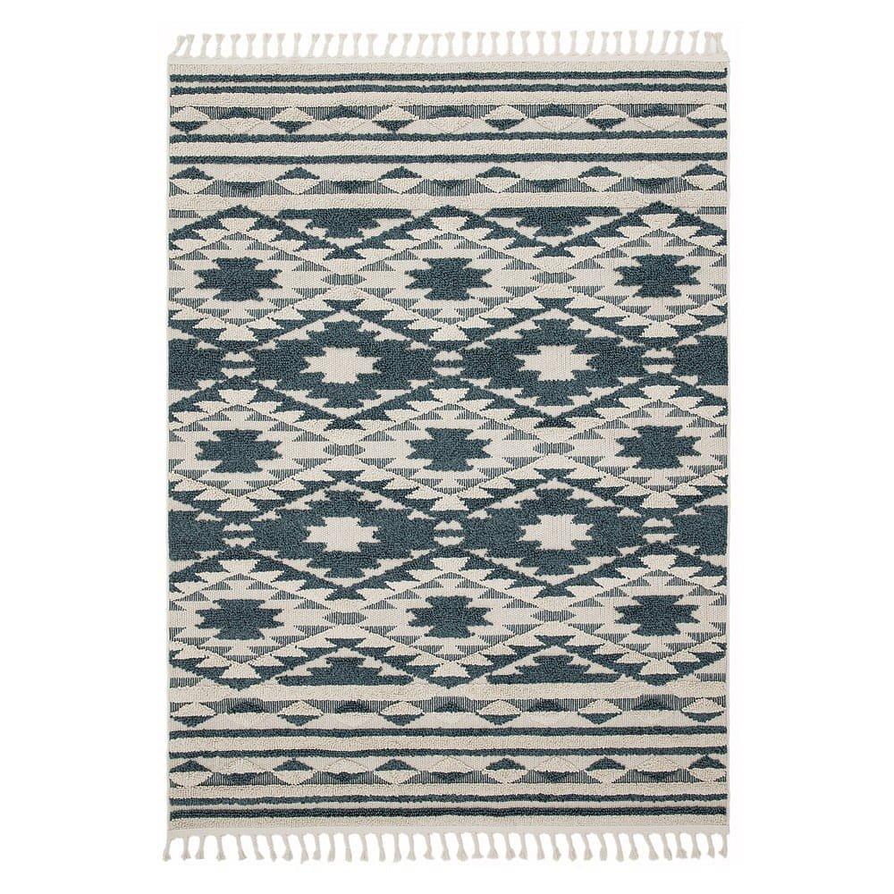 Zelený koberec Asiatic Carpets Taza, 120 x 170 cm