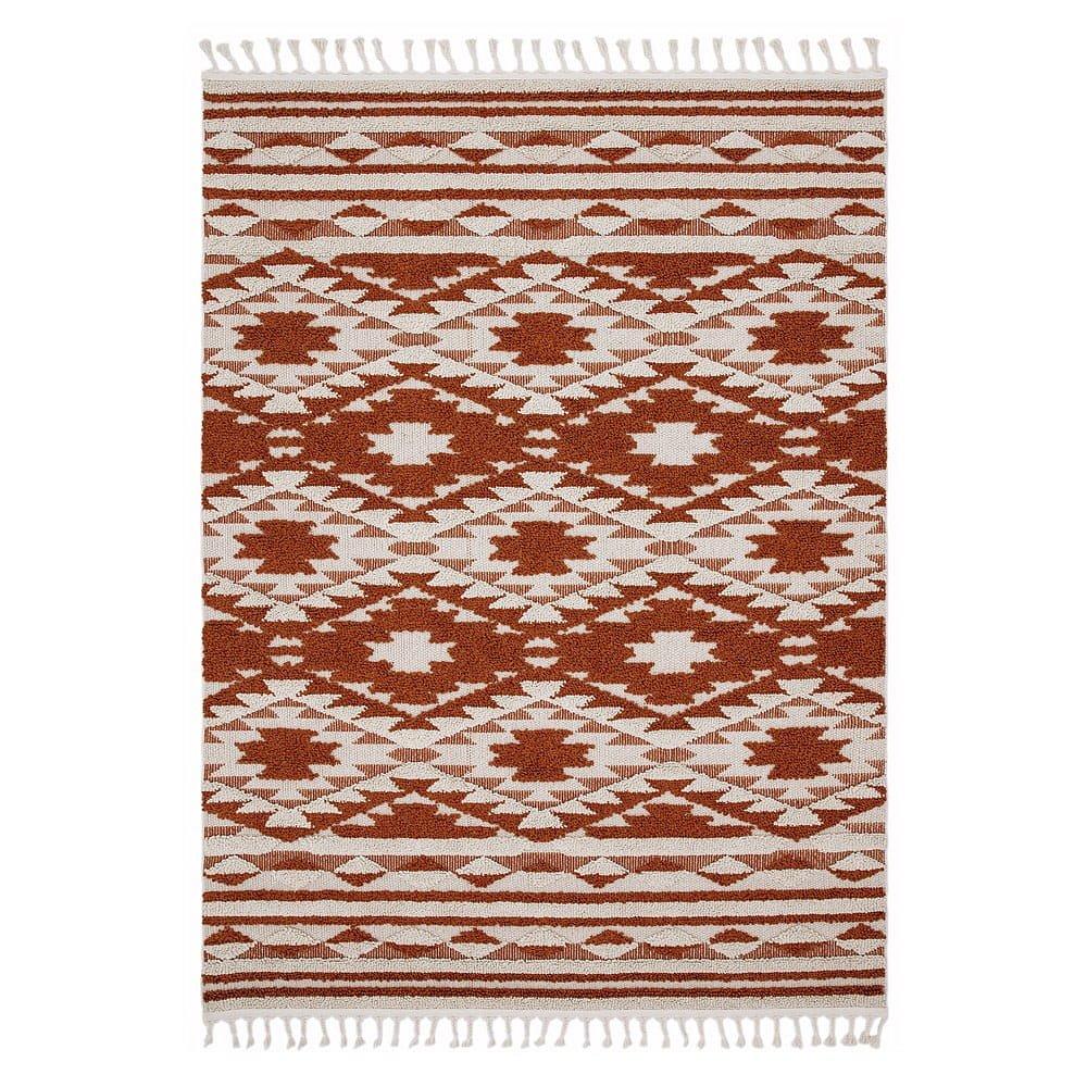 Oranžový koberec Asiatic Carpets Taza, 120 x 170 cm