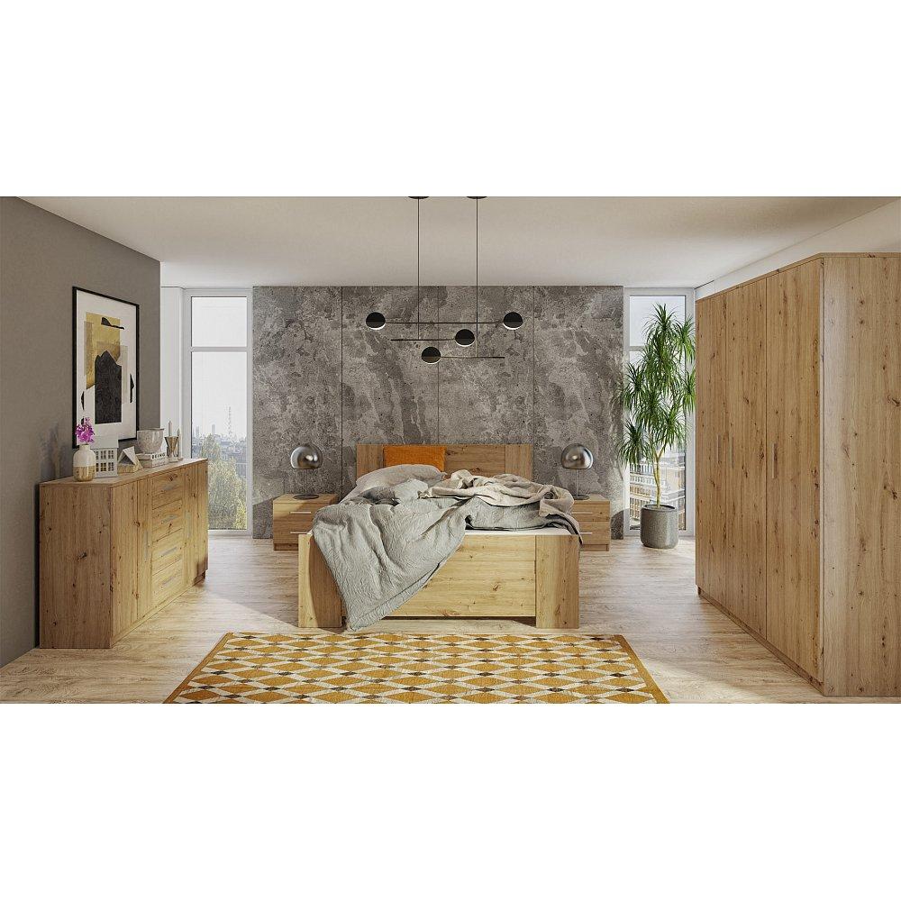 Ložnice BONO 3D, dub artisan