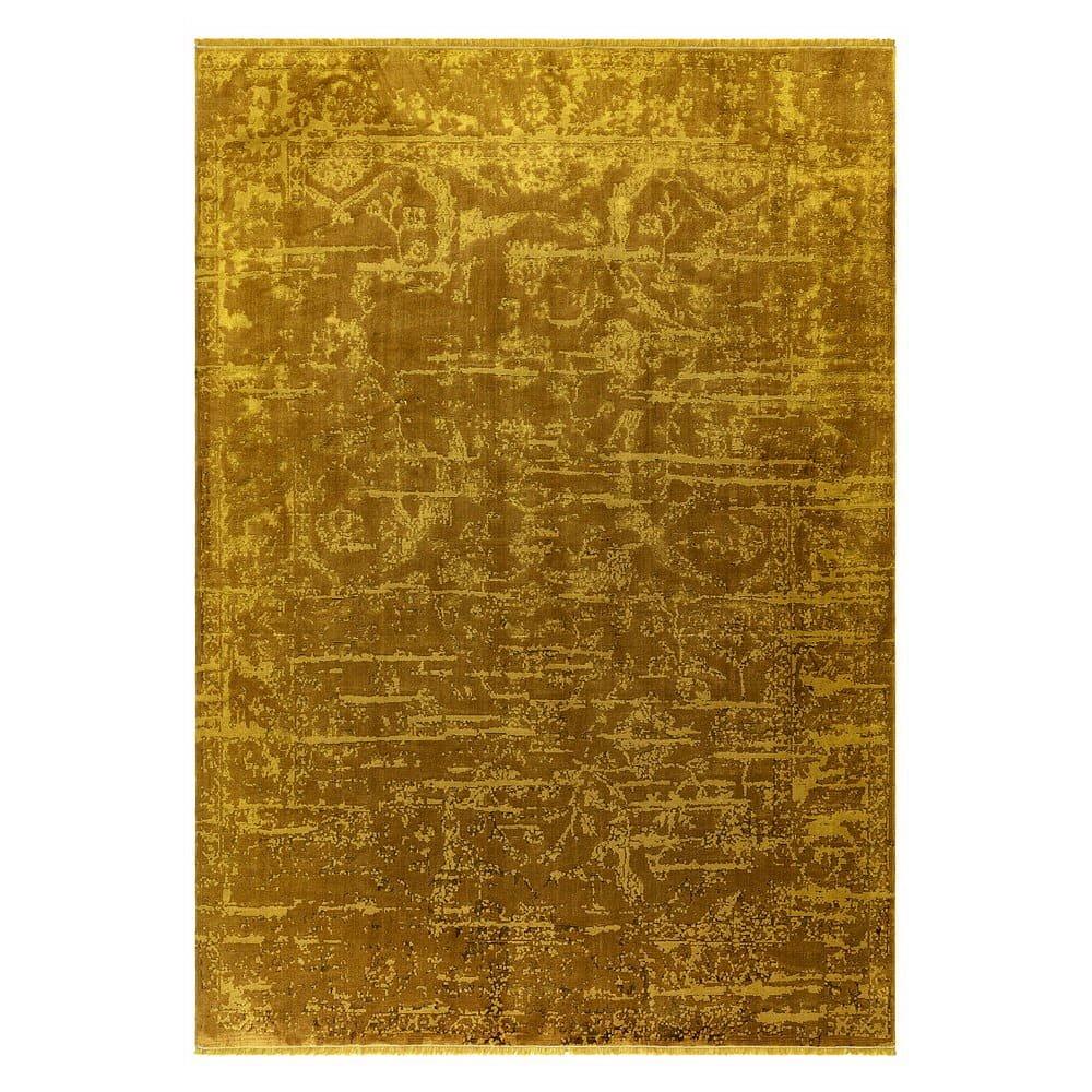 Žlutý koberec Asiatic Carpets Abstract, 120 x 170 cm
