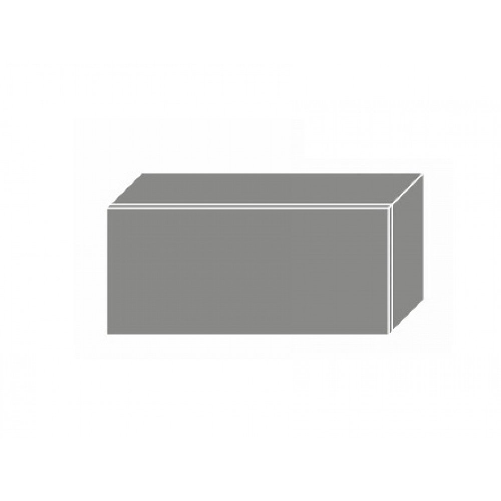 QUANTUM, skříňka horní W4b 80, white mat/lava