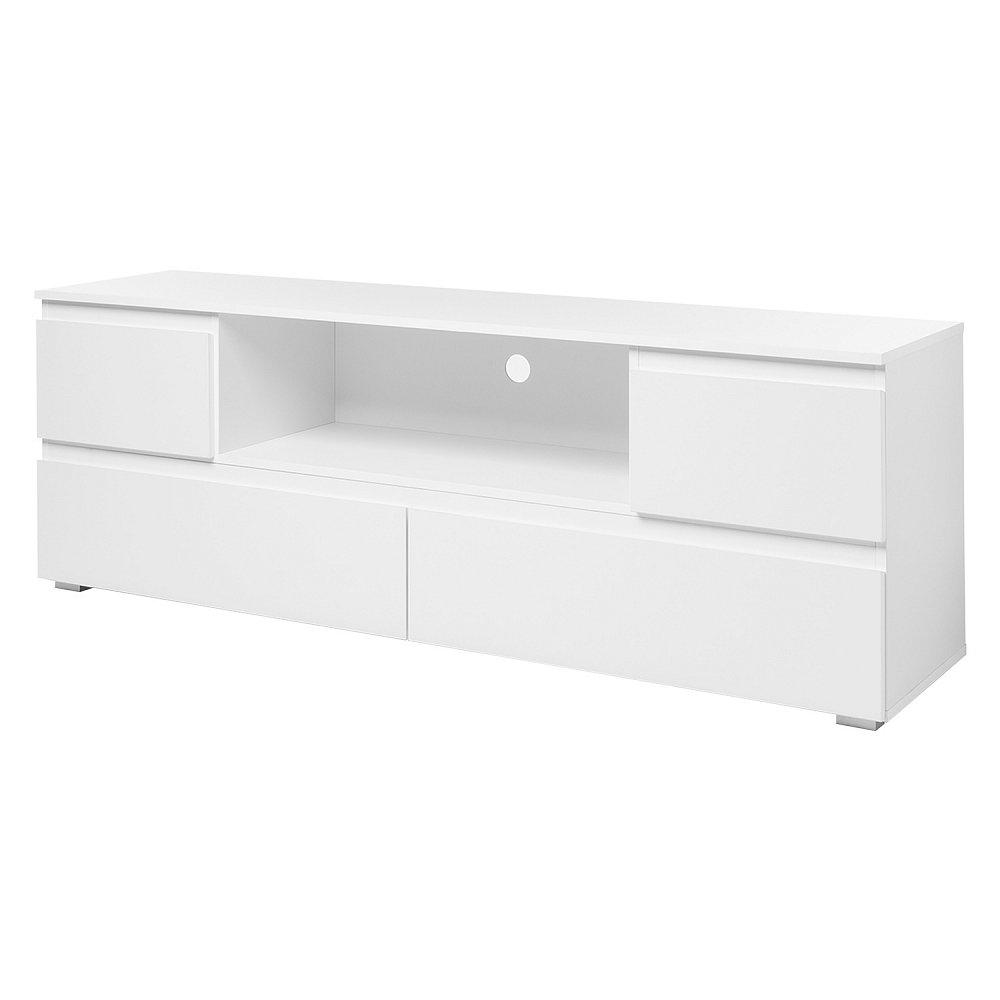 TV stolek IMAGE 18 bílý