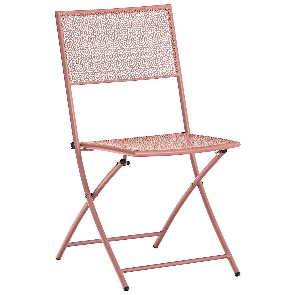 Ambia Garden Zahradní Sklápěcí Židle, Růžová - Zahradní židle skládací - 002845000821