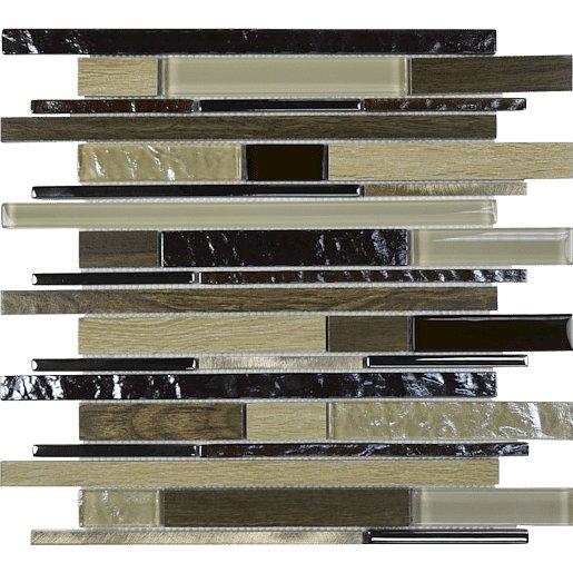 Mozaika Timber beige 30x35 cm mat / lesk TIMBERBE
