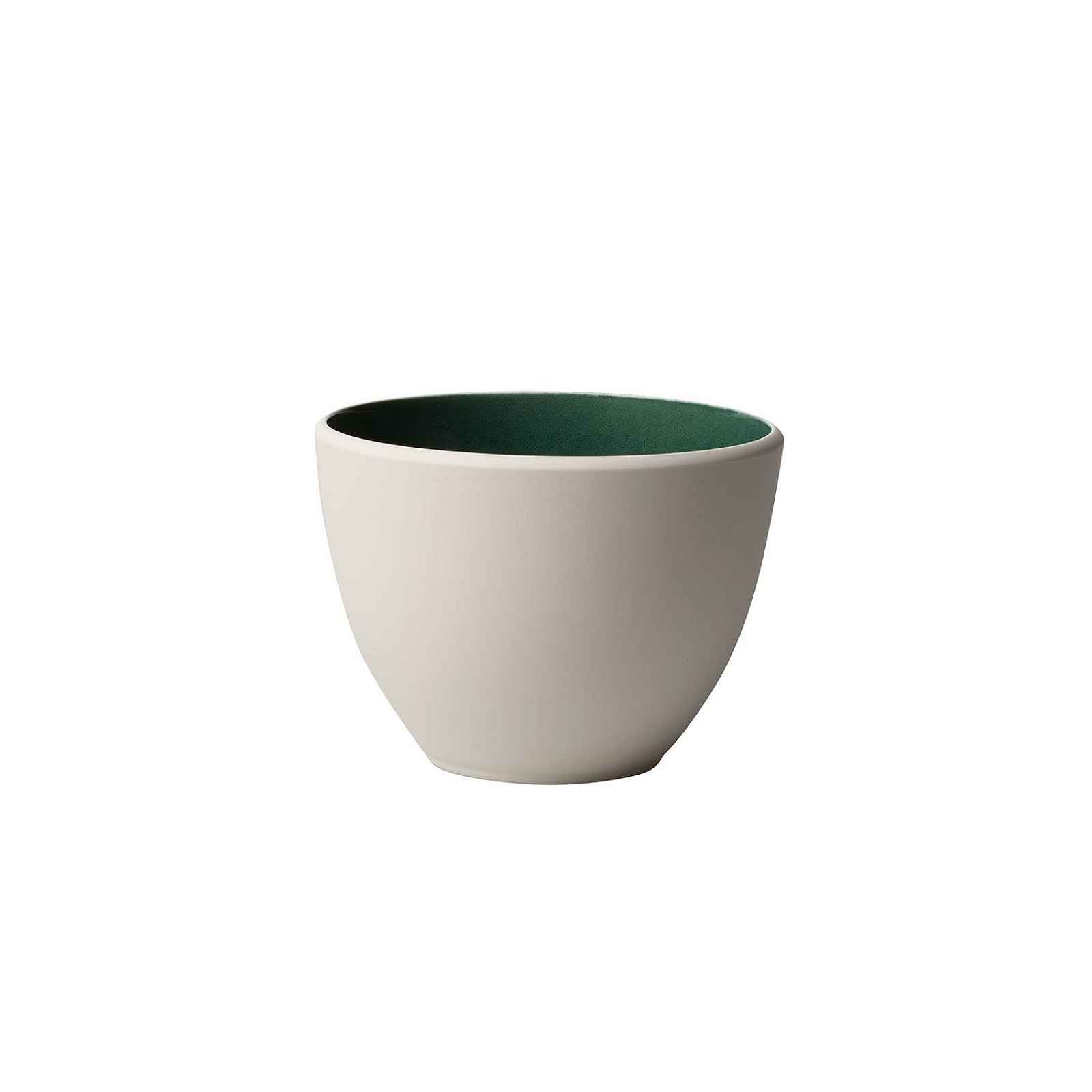 Bílo-zelený porcelánový šálek Villeroy & Boch Uni, 450 ml