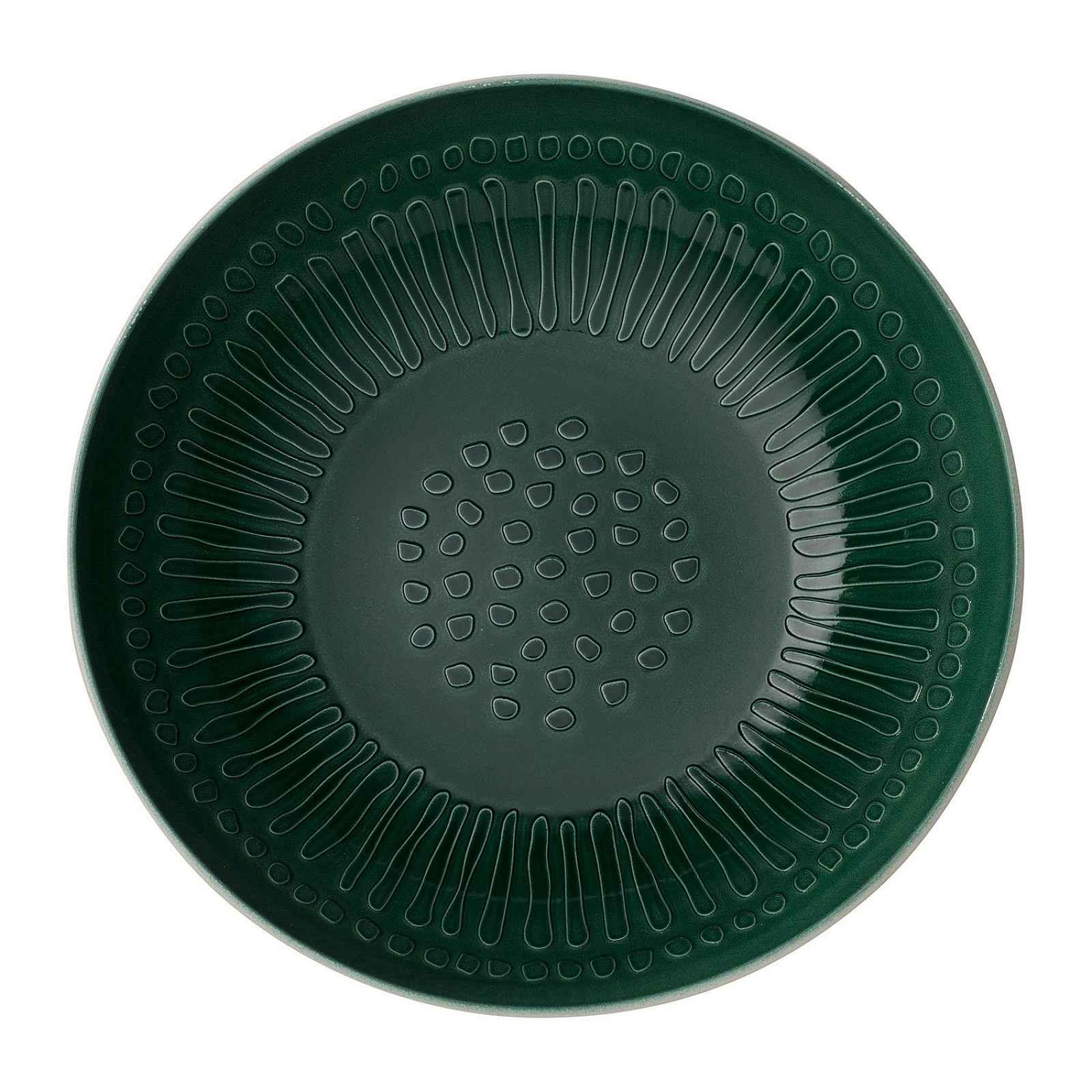 Bílo-zelená porcelánová servírovací miska Villeroy & Boch Blossom, ⌀ 26 cm