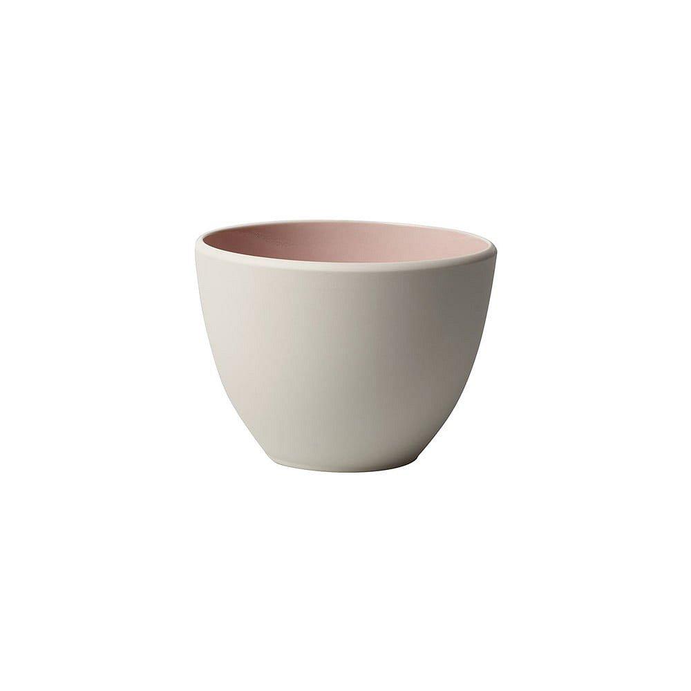 Bílo-růžový porcelánový šálek Villeroy & Boch Uni, 450 ml