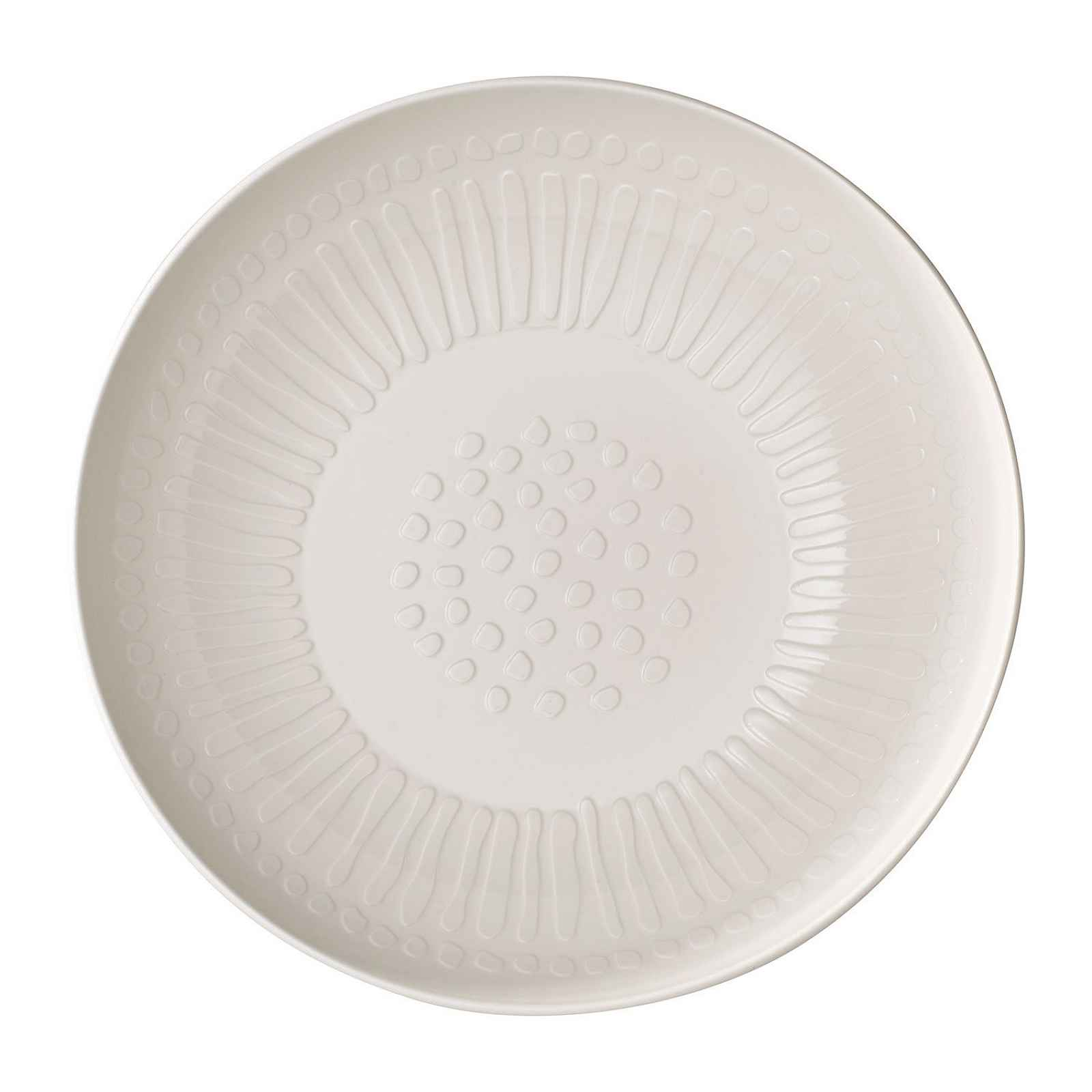 Servírovací bílá porcelánová miska Villeroy & Boch Blossom, ⌀ 26 cm
