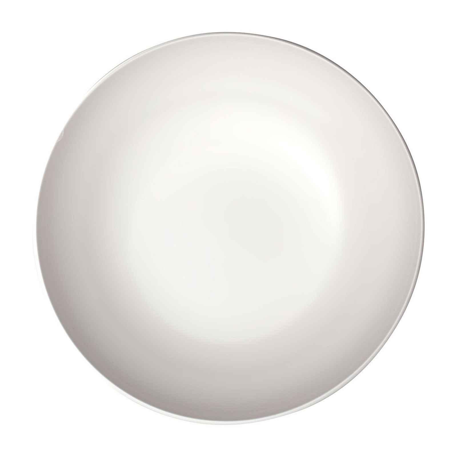 Servírovací bílá porcelánová miska Villeroy & Boch Uni, ⌀ 26 cm