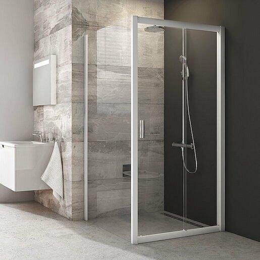 Boční zástěna ke sprchovým dveřím 100x190 cm Ravak Blix chrom matný 9BHA0100Z1