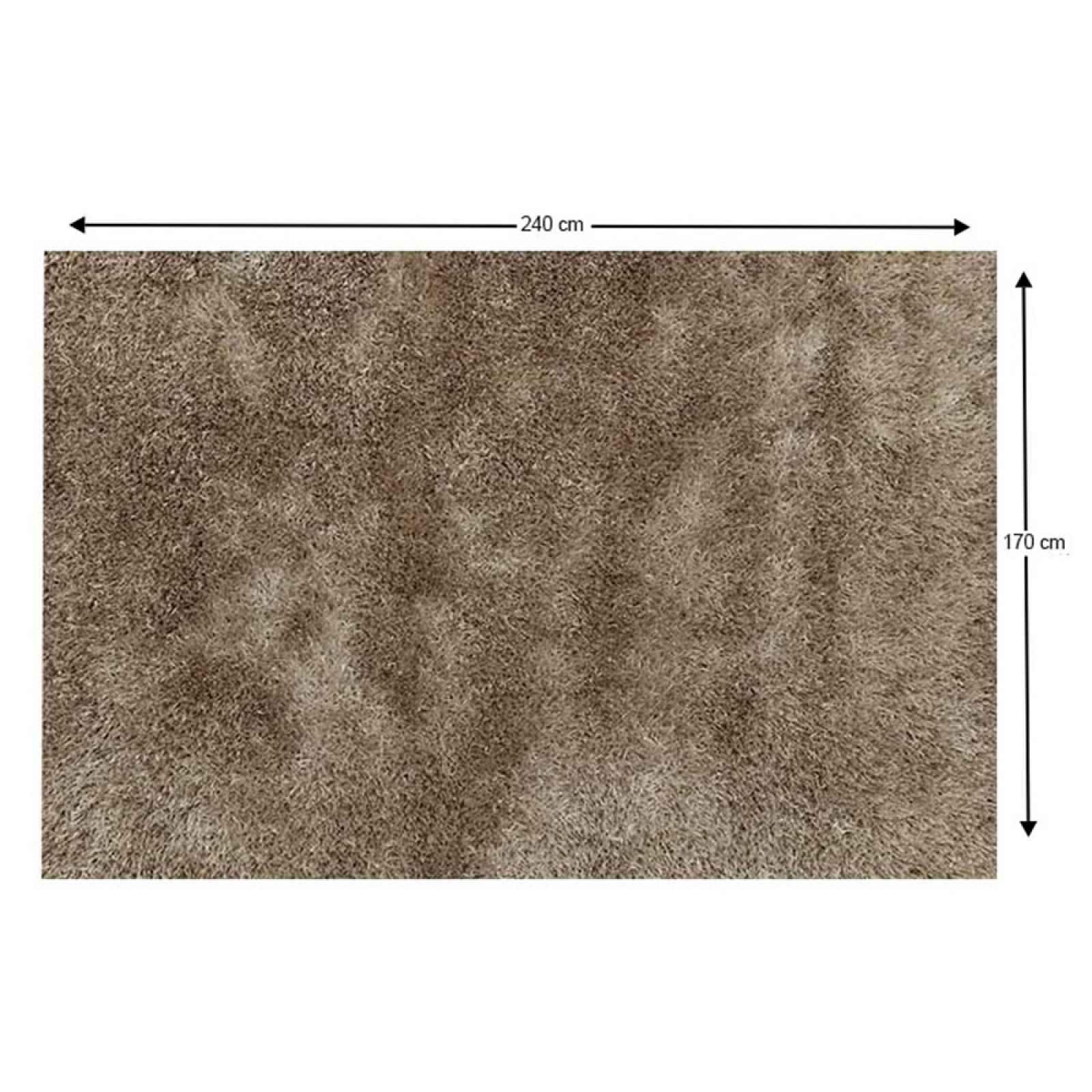 Shaggy koberec AROBA krémová Tempo Kondela 170x240 cm
