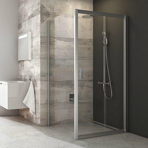 Boční zástěna ke sprchovým dveřím 100x190 cm Ravak Blix chrom matný 9BHA0C00Z1