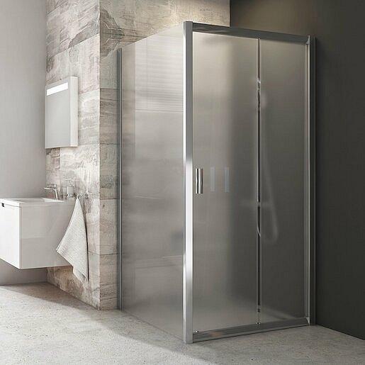 Boční zástěna ke sprchovým dveřím 100x190 cm Ravak Blix chrom lesklý 9BHA0C00ZG