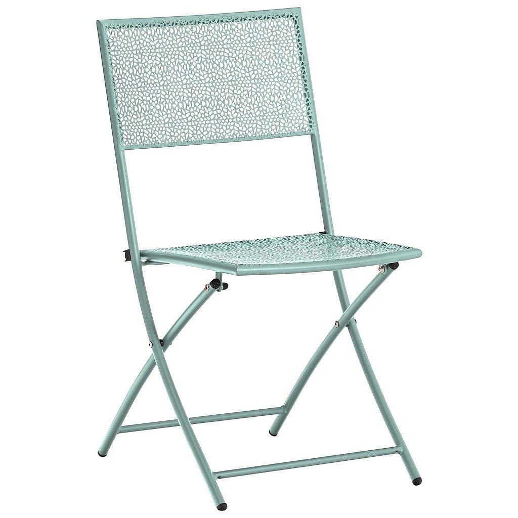 Ambia Garden Zahradní Sklápěcí Židle, Mátově Zelená - Zahradní židle skládací - 002845000811