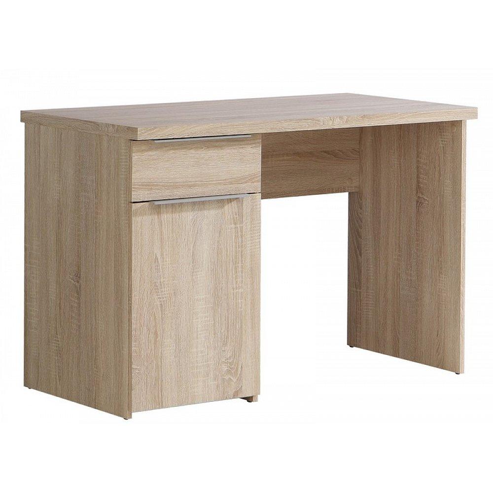Psací stůl se zásuvkou Opus, dub sonoma