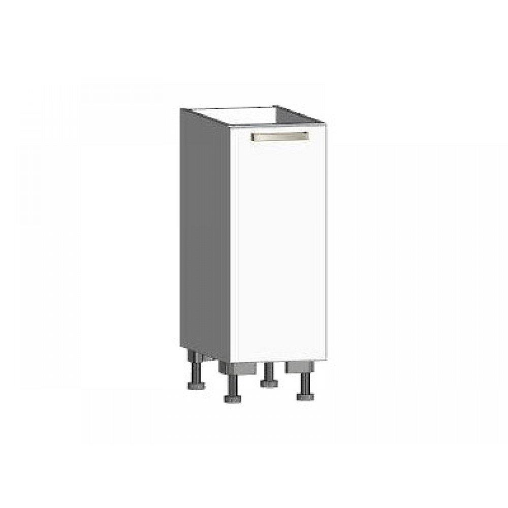 Dolní kuchyňská skříňka One ES30, levá, bílý lesk, šířka 30 cm
