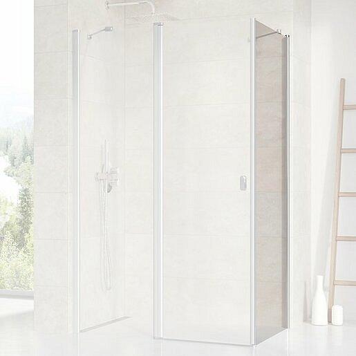 Boční zástěna ke sprchovým dveřím 100x195 cm Ravak Chrome chrom lesklý 9QVA0U00Z1