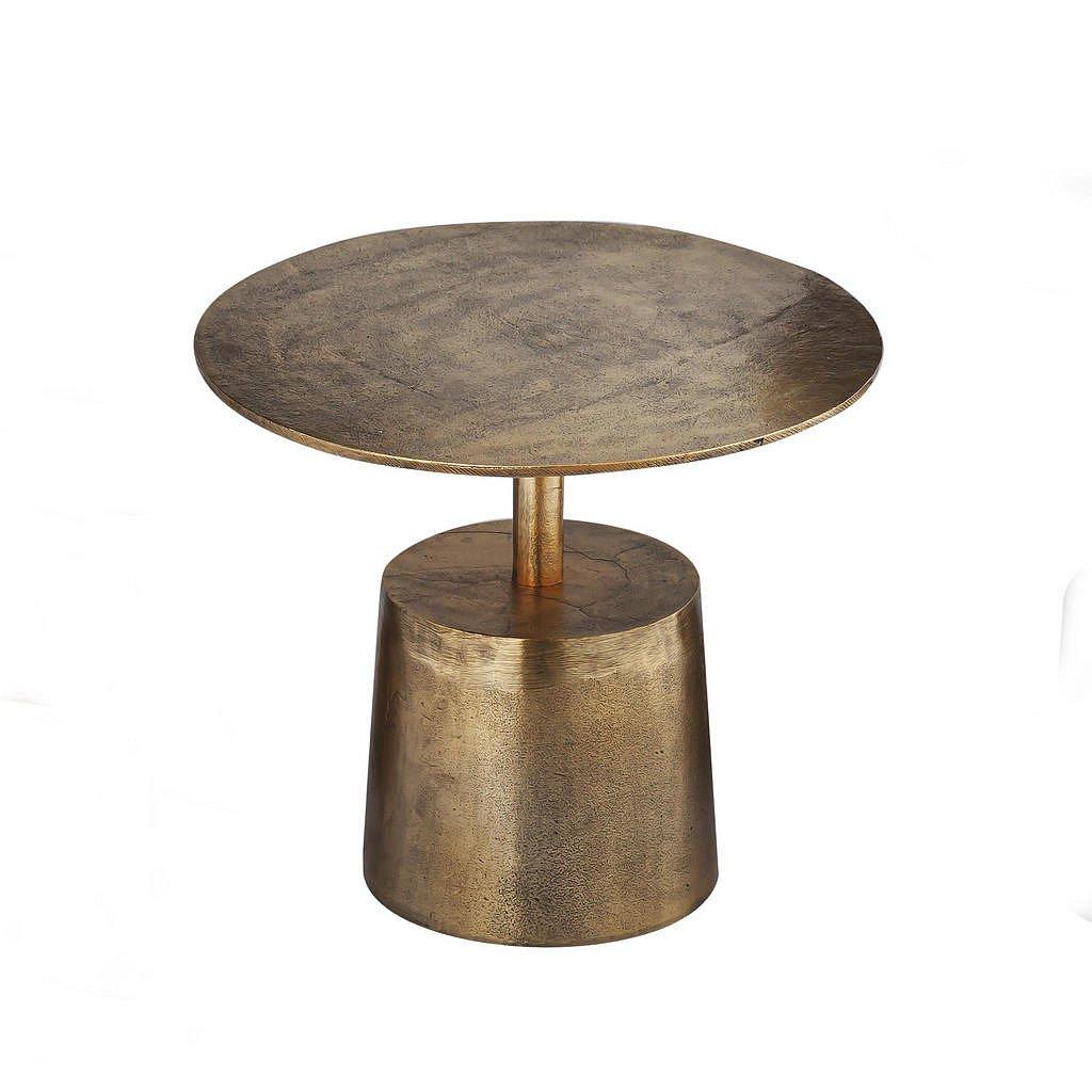 Ambia Home Odkládací Stolek, Barvy Zlata - Odkládací stolky - 008675033401
