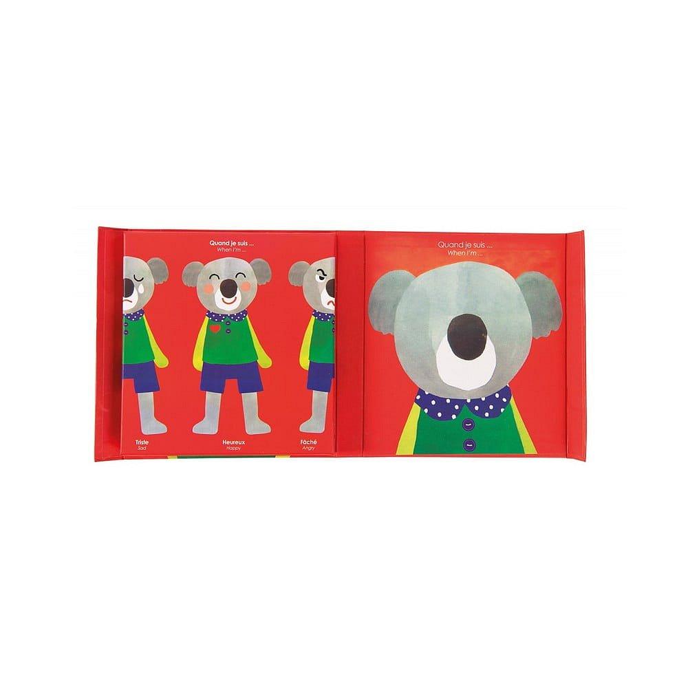 Dětská magnetická hra Moulin Roty Emoce