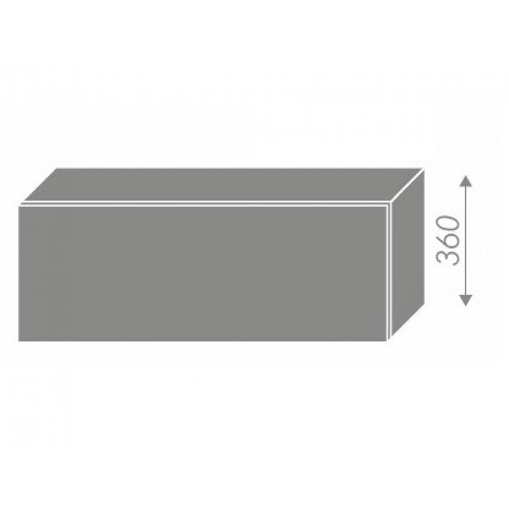QUANTUM, skříňka horní W4b 90, white mat/lava