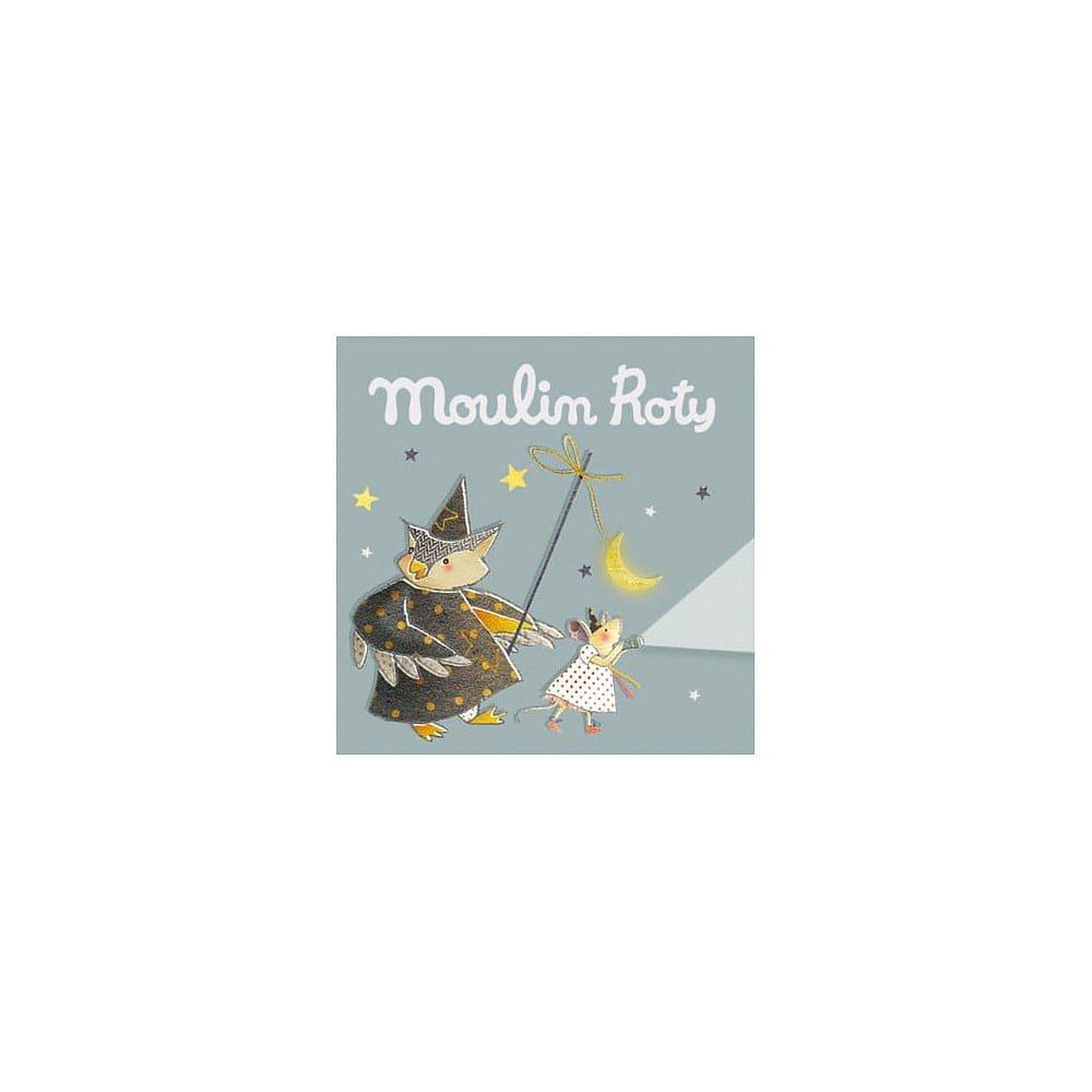 Dětské promítací kotoučky Moulin Roty Noční procházka