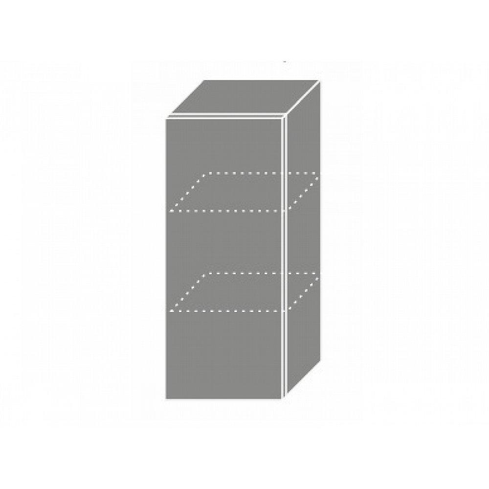 QUANTUM, skříňka horní W2 30, white mat/lava