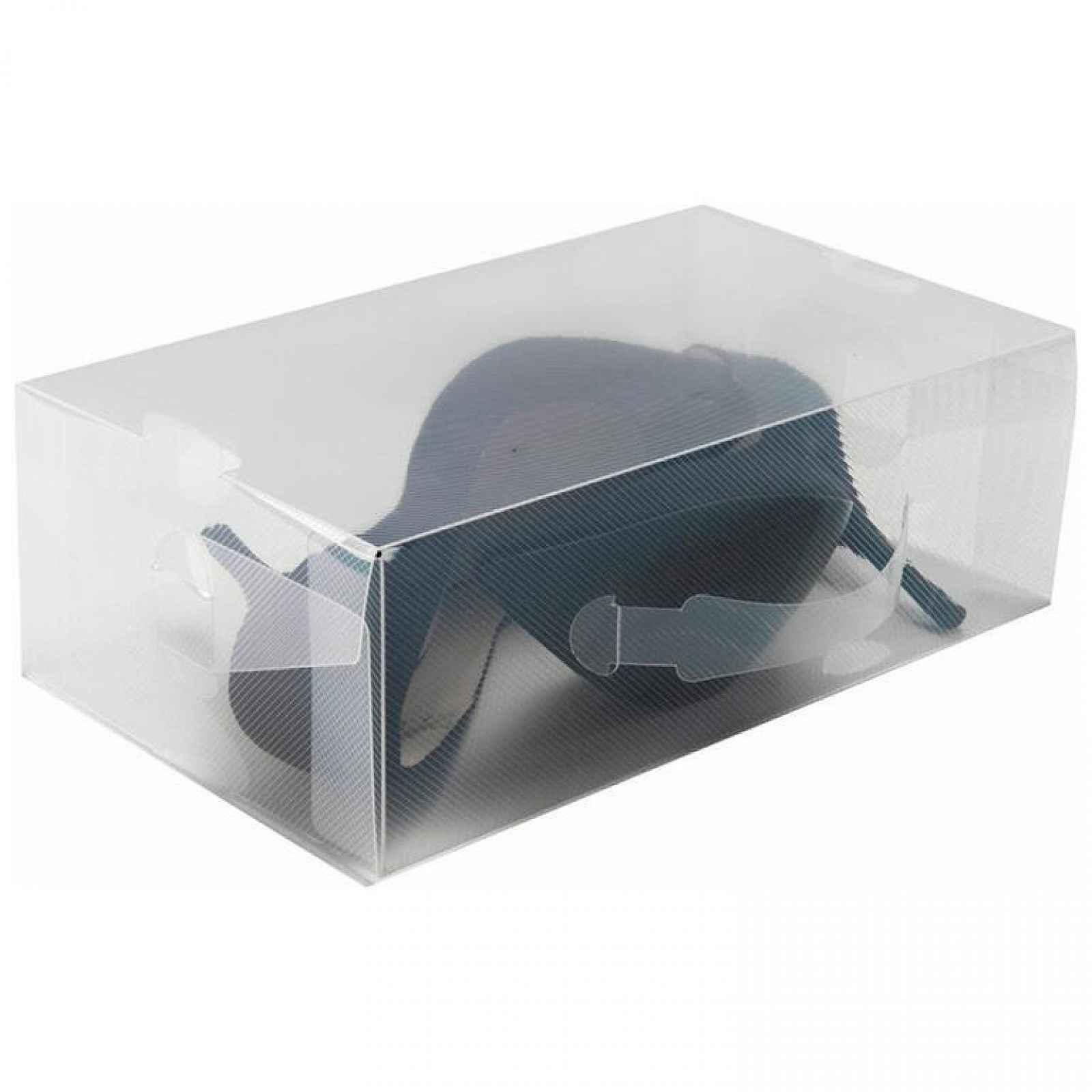 Compactor Transparentní úložný box na boty lodičky M