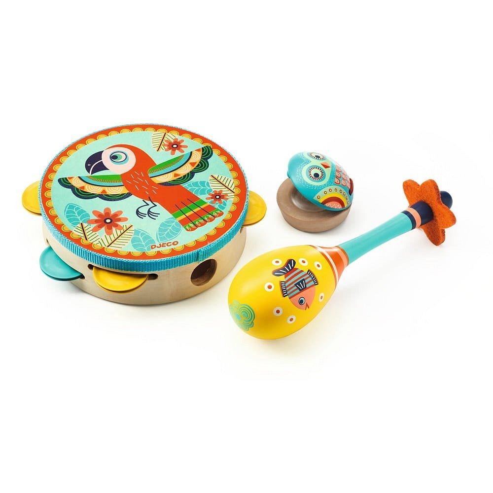 Dětský set hudebních nástrojů Djeco