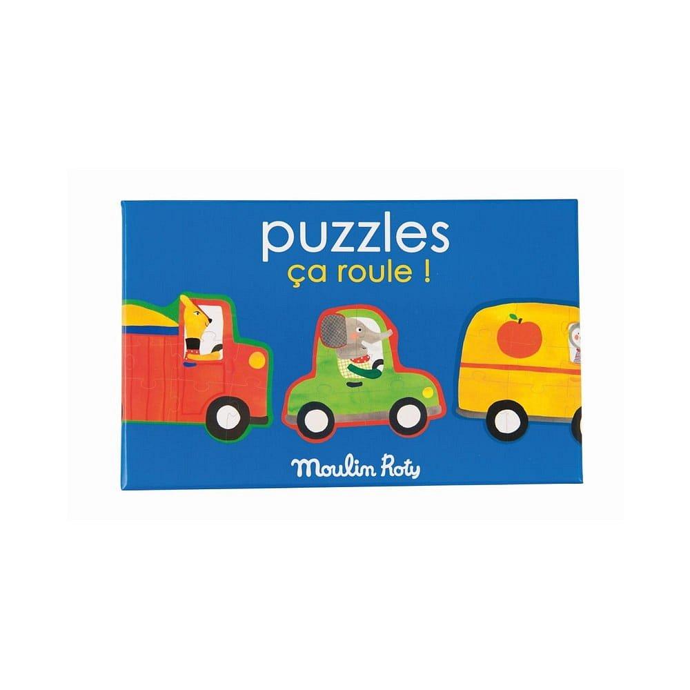 Dětské puzzle Moulin Roty Auta