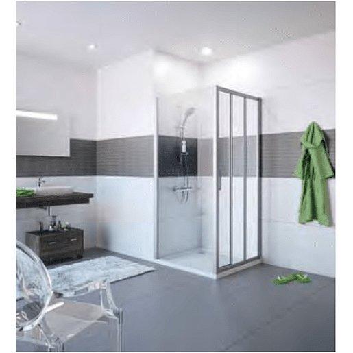 Boční zástěna ke sprchovým dveřím 100x200 cm Huppe Classics 2 chrom lesklý C20512.069.322